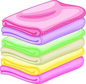 clipart of stack of towels k21616012 search clip art rh fotosearch com bath towel clipart tower clip art