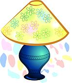 Drawing of table lamp k3307293 search clipart illustration table lamp aloadofball Image collections