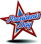 clipart of presidents day star k19884600 search clip art rh fotosearch com