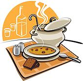 Image of Soup and Meal