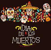yeele day of the dead dia de muertos mexico backdrop dress-up