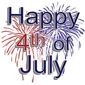clip art of happy 4th of july fireworks k1104332 search clipart rh fotosearch com 4th of july clipart free 4th of july fireworks free clipart