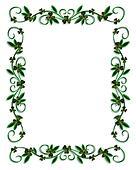 Clip Art of St Patricks Day Border Shamrocks k1534082 ...