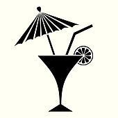 clipart cocktail k17631790 suche clip art. Black Bedroom Furniture Sets. Home Design Ideas