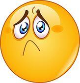 clip art of hurt and sad emoticon k52438878 search clipart rh fotosearch com sad clip art pictures sad clip art faces
