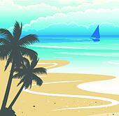 clipart of seashore background k21505564 search clip art rh fotosearch com seashore png clipart Seaweed Clip Art