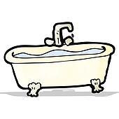 Clipart Karikatur Badewanne K22266890 Suche Clip Art