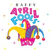 drawings of happy april fools day k35649254 search clip art rh fotosearch com april fools clipart free april fools clipart pictures