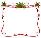 Stock Illustrationen Weihnachten Rahmen Von Bänder K6310910