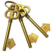 gold house key. Available As A Print Gold House Key L