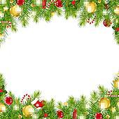 weihnachten altmodisch umrandungen clip art k11062998. Black Bedroom Furniture Sets. Home Design Ideas