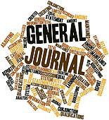 Stock Illustration Of General Journal K11697066