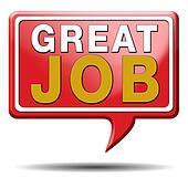 stock illustration of great job k16275596 search clip art