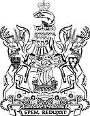 Ontario Coat Of Arms Colouring Page | Coloring Page